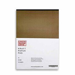 London Graphic Centre Kraft Paper Pad A3