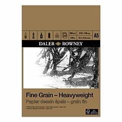 Daler Rowney Fine Grain Heavyweight Pad A5