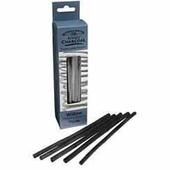 Winsor and Newton Willow Charcoal Medium 24 Sticks