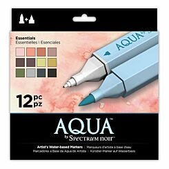 Spectrum Noir Aqua Pack of 12 Markers Essential