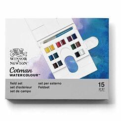 Winsor and Newton Cotman Watercolour Compact Paint Set