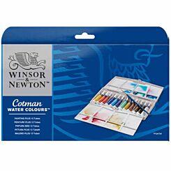Winsor and Newton Cotman Watercolour Tube Painting Plus Set