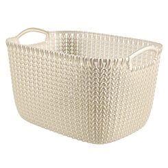 Curver Knit Storage Basket 19 Litres