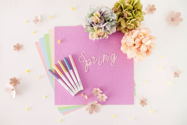 Cricut Spring Craft Projects