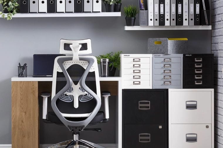 8 Home Office Organisation Ideas