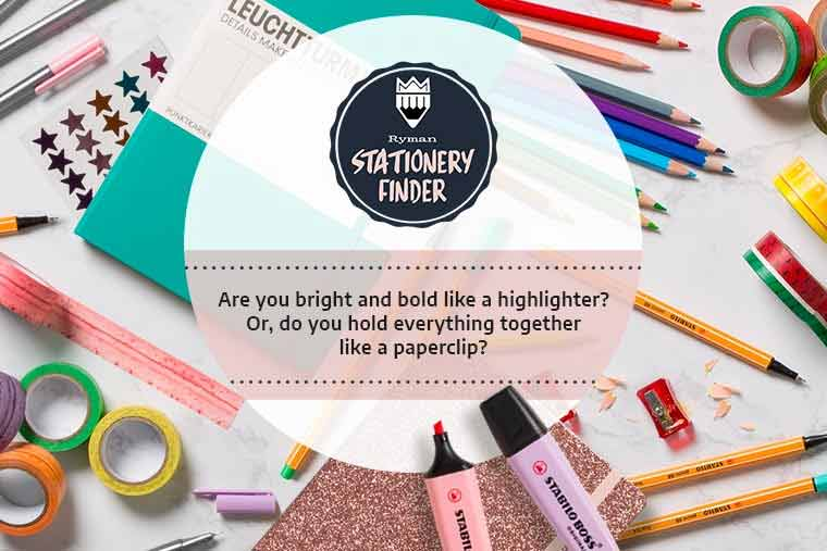 Quiz | Which Stationery Item Are You?