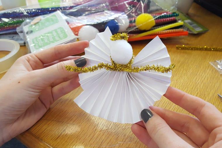DIY Christmas How to Make Your Own Christmas Tree Angel