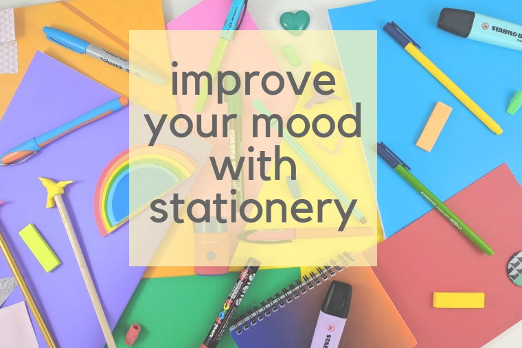 8 Colours To Improve Your Mood with Stationery