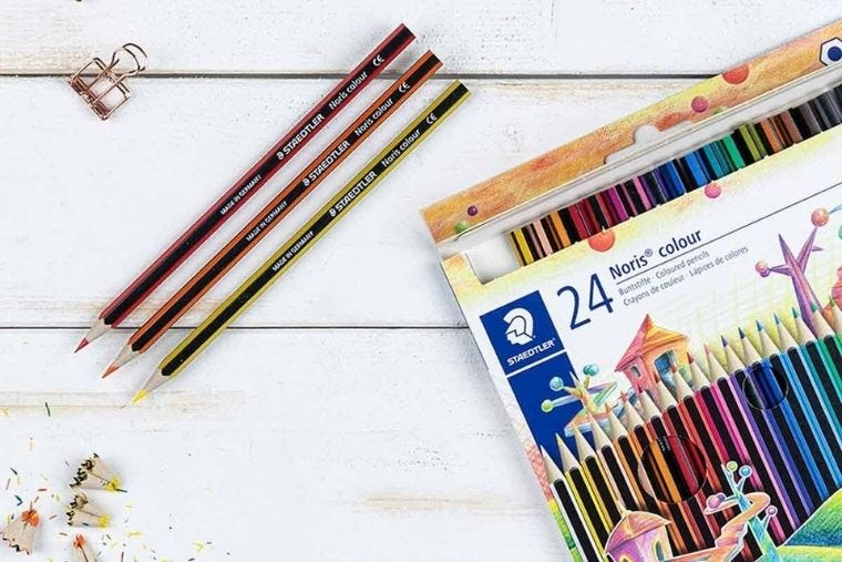Our Guide to the Best Coloured Pencils