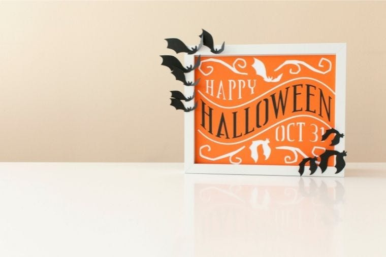 Easy Cricut Crafts for Halloween
