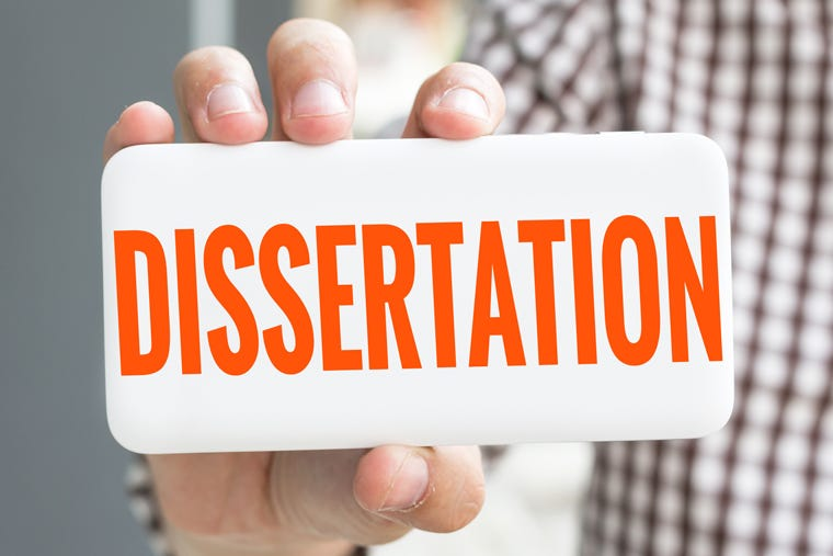 How to Write and Present your Dissertation
