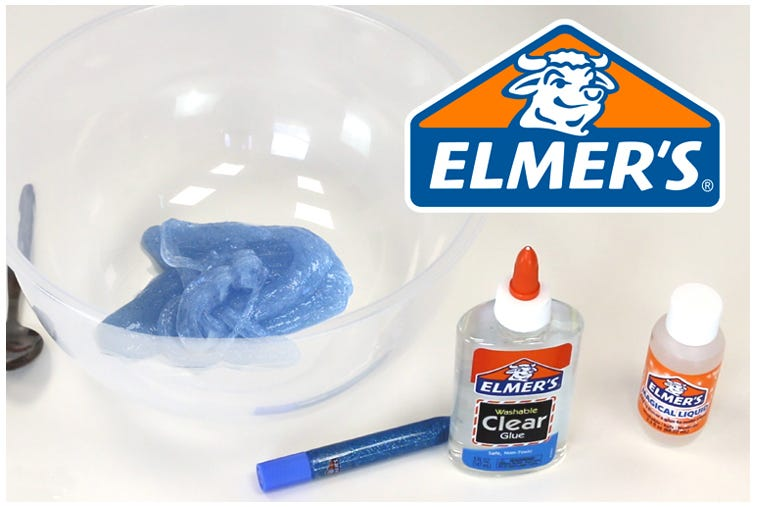 Make Slime with Elmer's Magic Solution