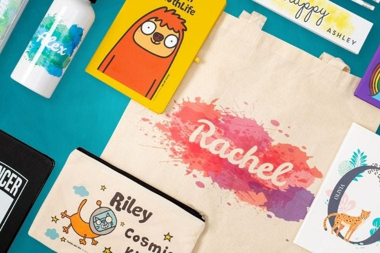 Personalised Back to School Gifts & Ideas