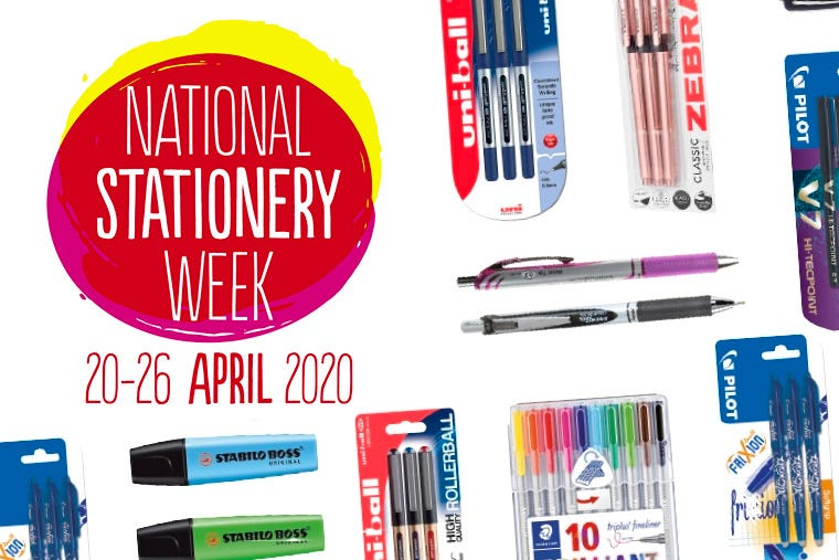 Ryman Celebrates National Stationery Week