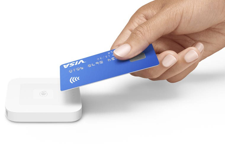 Square Card Payment Reader for Small Businesses