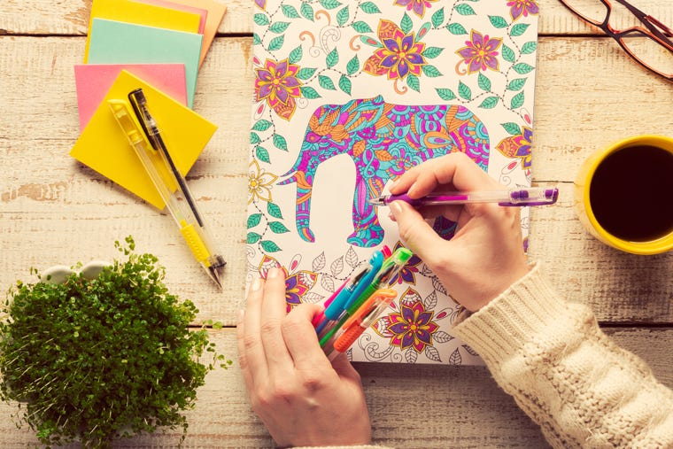 Managing Your Stress Levels: 5 Benefits Of Colouring For Adults & Children