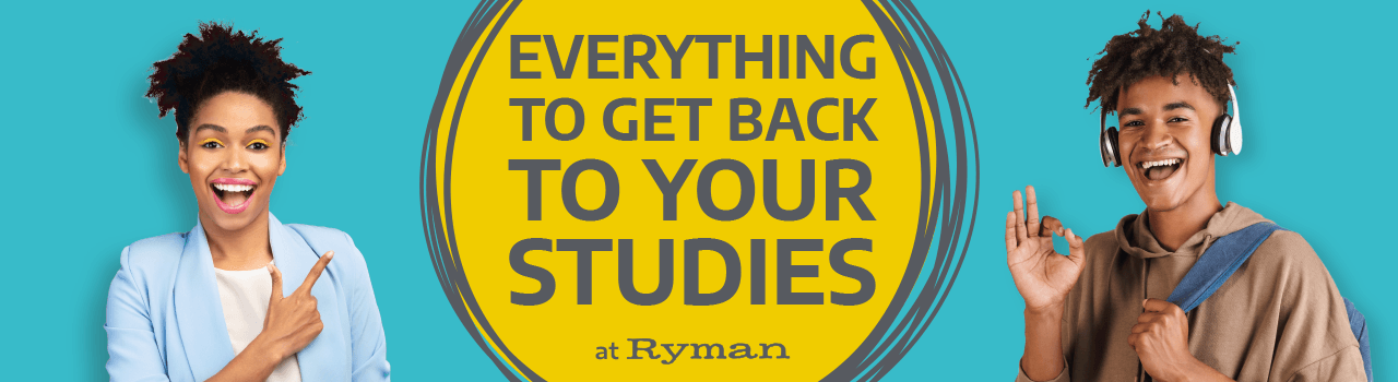Everything to get back to your studies at Ryman