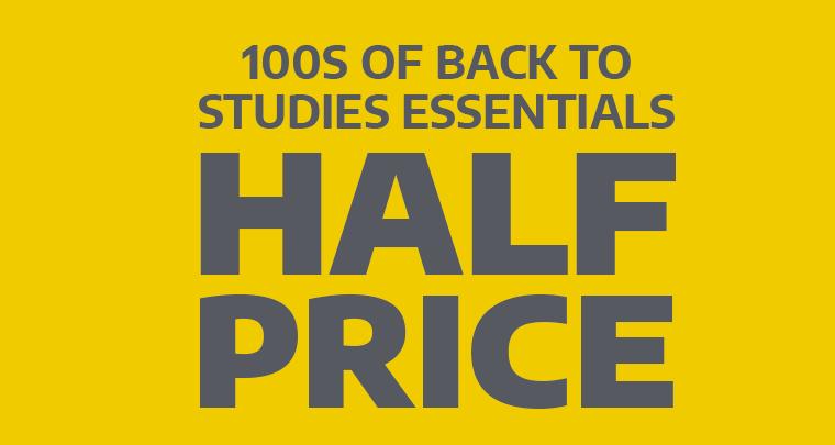 Half Price Study Essentials