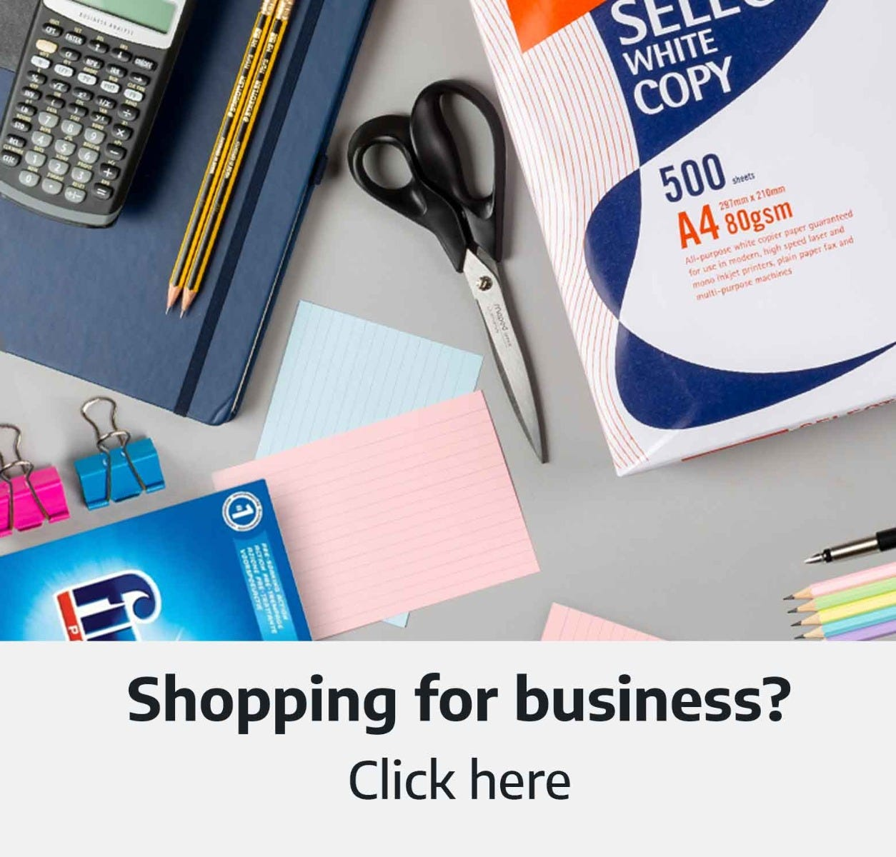 Shopping for business?