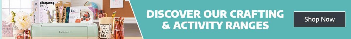 Discover Crafting & Activity at Ryman