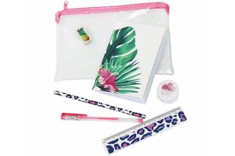 Wild tropics stationery set
