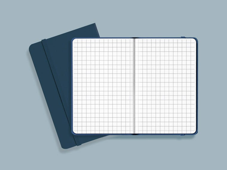 Grid Paper Notebooks
