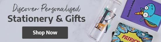 Discover Personalised Stationery & Gifts