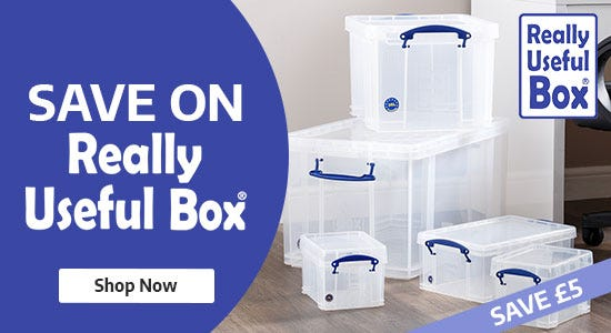 Save on Really Useful Boxes