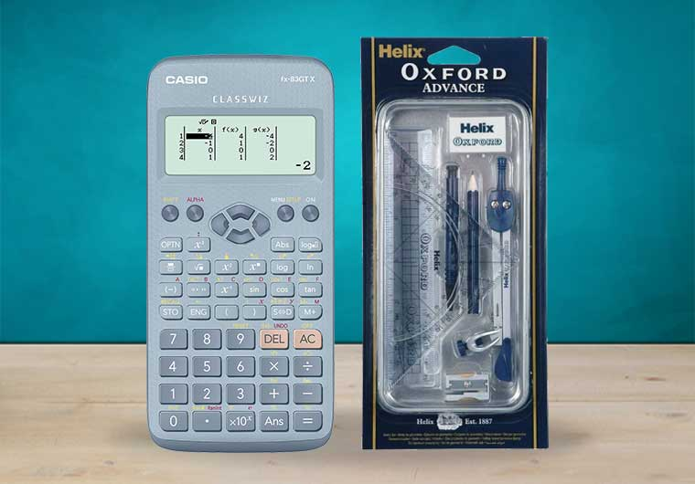 Calculators & Maths Sets