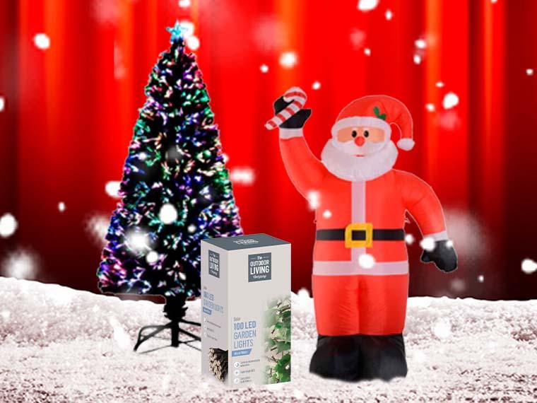 Christmas Decorations & Lights