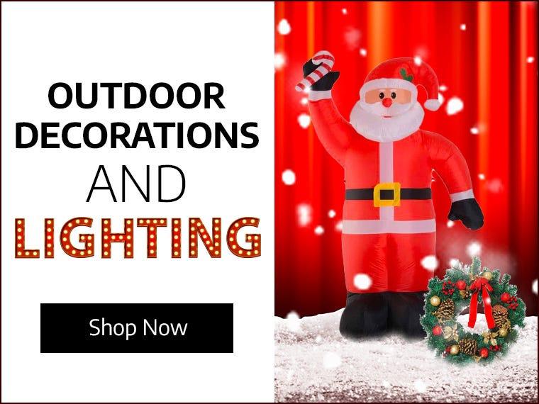 Outdoor Decorations & Lighting
