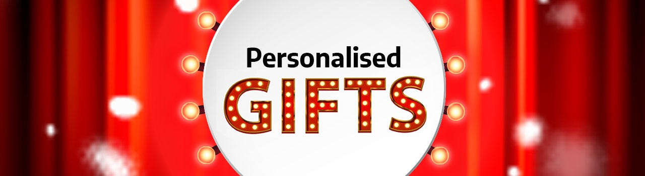PERSONALISED GIFTS Find unique Christmas gifts at Ryman.