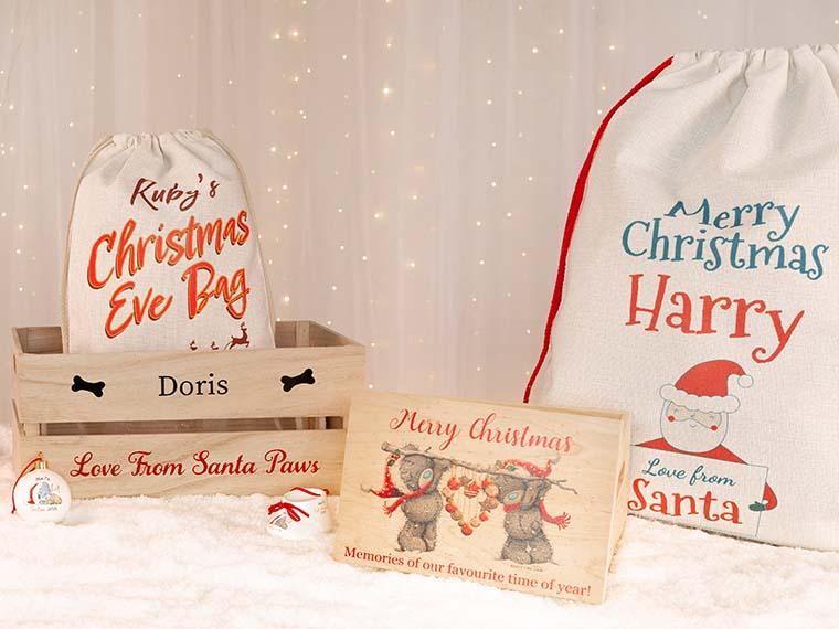 Christmas Eve Boxes, Bags & Santa Sacks