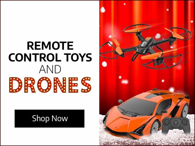 Remote Control Toys & Drones