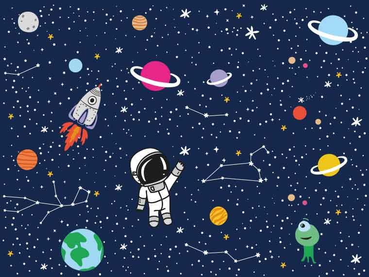 LEGAMI SPACE & STARS
