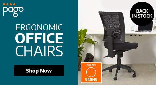 Pago Ergonomic Chairs