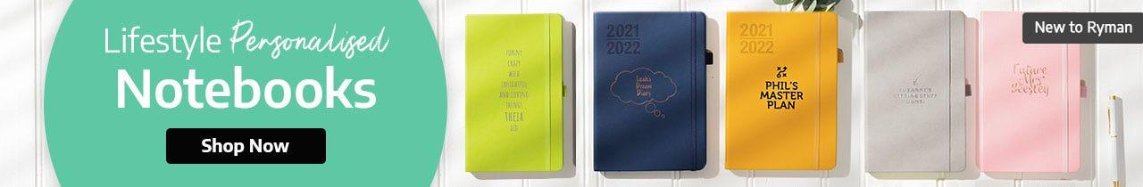 Lifestyle Personalised Notebooks