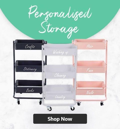 Personalised Storage