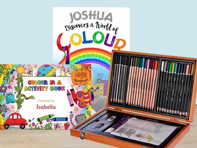 Personalised Colouring