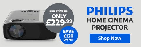 Save £120 on Phillips Projector