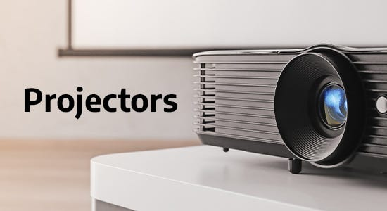 Set up a home cinema or a meeting room with the perfect projector. Our range includes Epson, Optoma and ViewSonic allowing you to find the best projector for you whatever the use!