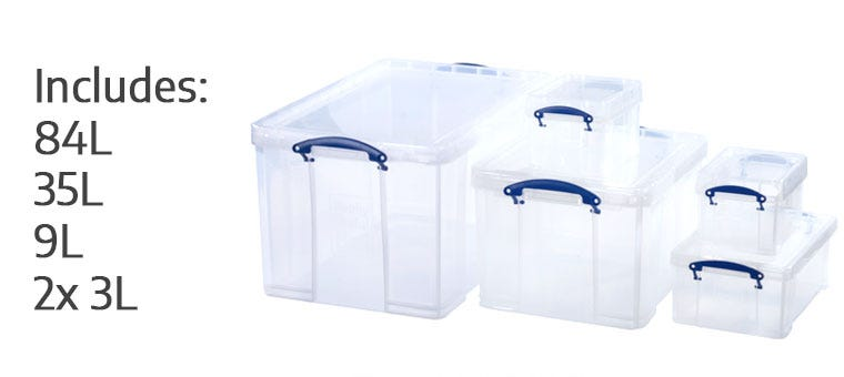 Really Useful Box 84 Litre Bonus Pack