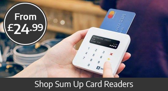 Shop Sum Up Payment System
