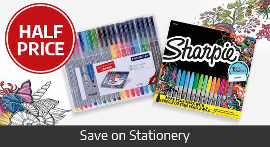Shop Half Price Stationery