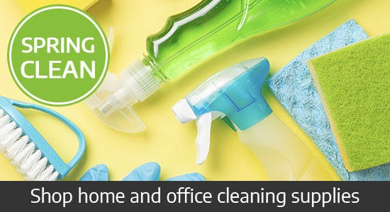 Save on cleaning supplies