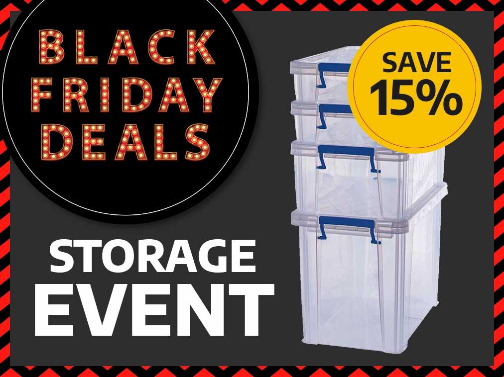 Black Friday Storage Event