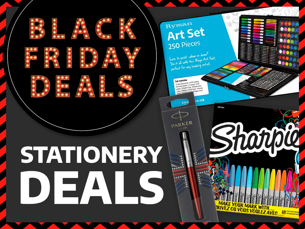 Black Friday Stationery Offers