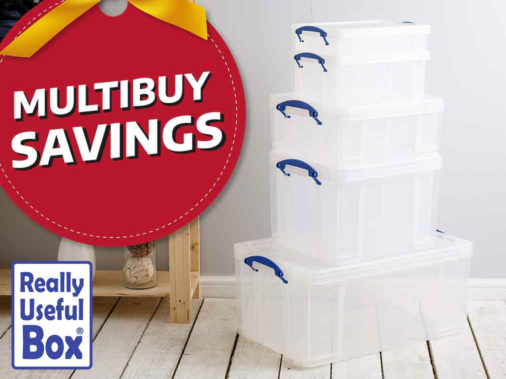 Multibuy Savings - Really Useful Boxes