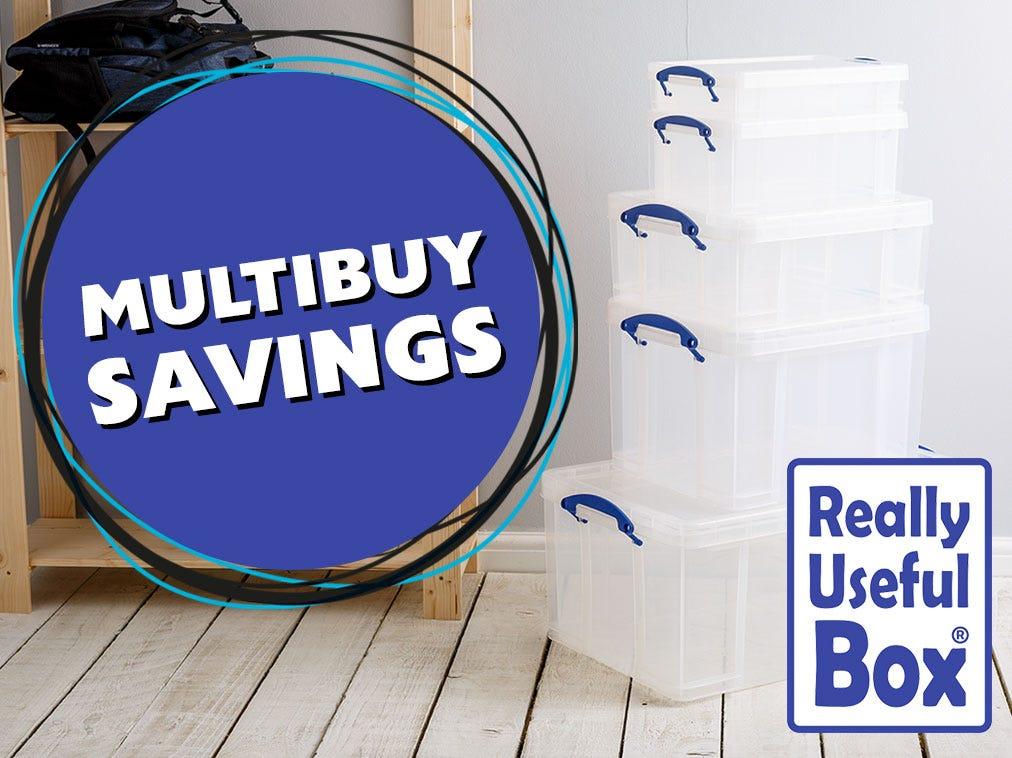 Multibuy Savings - Really Useful Boxes