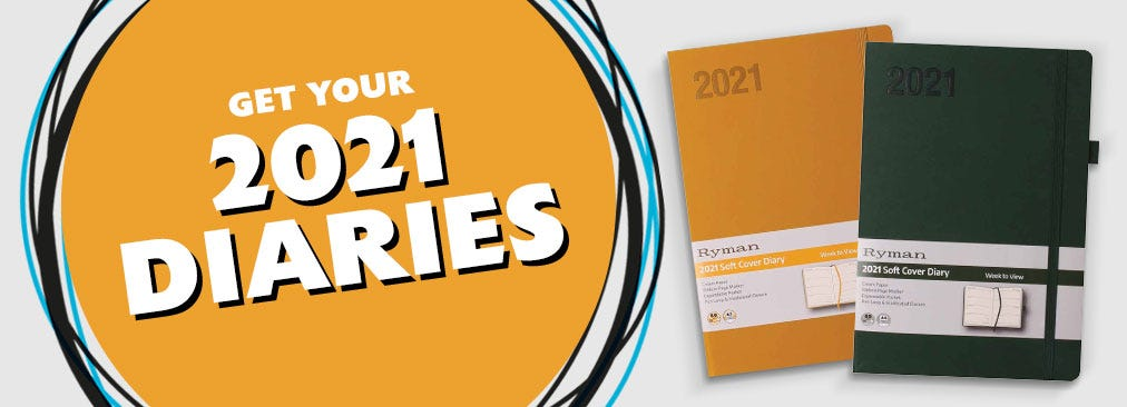 Get Your 2021 Diaries